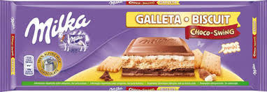 CHOCOLATE CON GALLETA MILKA 300 GR