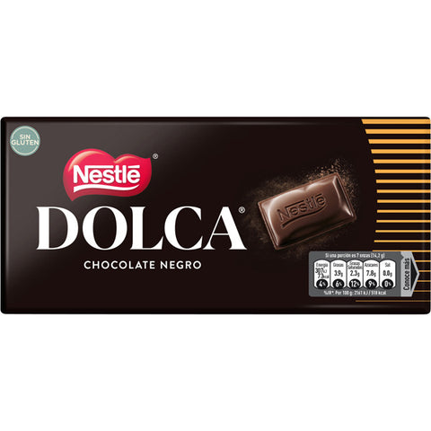 CHOCOLATE DOLCA NEGRO NESTLE 100 G