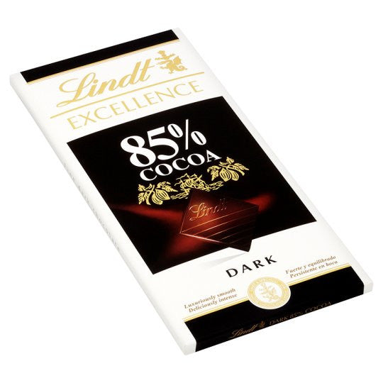 CHOCOLATE EXCELLENCE 85%CACAO LINDT 100