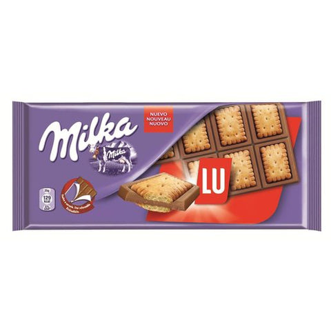 CHOCOLATE MILKA LU 87 G