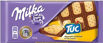 CHOCOLATE MILKA TUC 87 G