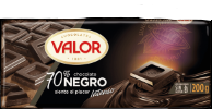 CHOCOLATE NEGRO 70% VALOR 200 g