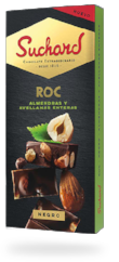CHOCOLATE ROC DOBLE ALMENDRA Y AVELLANA SUCHARD 180 G