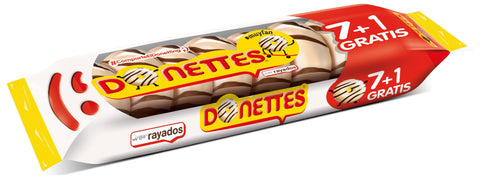 DONETTES RALLADOS 7+1