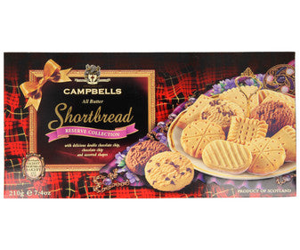 GALLETAS MANTEQUILLA CAMPBELLS RESERVE COLLECTION 210 G