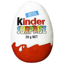 HUEVO CHOCOLATE SORPRESA KINDER 20 g.