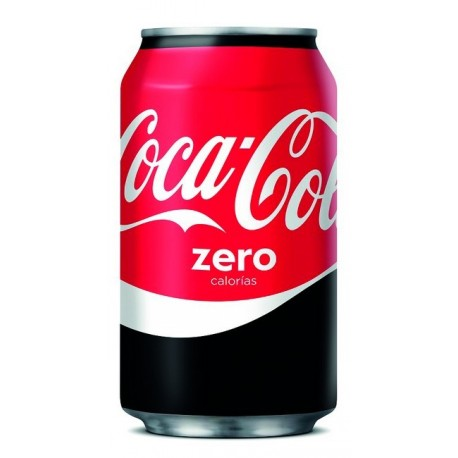 REFRESCO COCA COLA ZERO LATA 33 CL