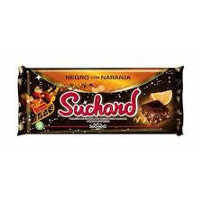 TURRON CHOCOLATE NEGRO SUCHARD 260 G