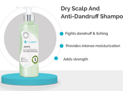 SkinKraft Dry Scalp And Anti-Dandruff Shampoo