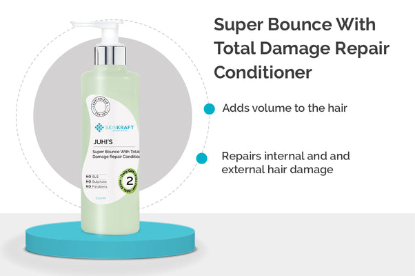 SkinKraft Super Bounce With Total Damage Repair Conditioner
