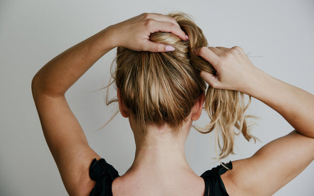 How To Tie Your Hair At Night To Prevent Hair Loss Skinkraft