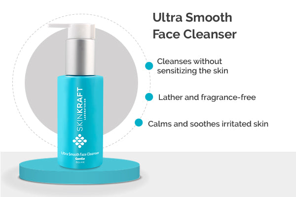 Skinkraft Ultra Smooth Face Cleanser