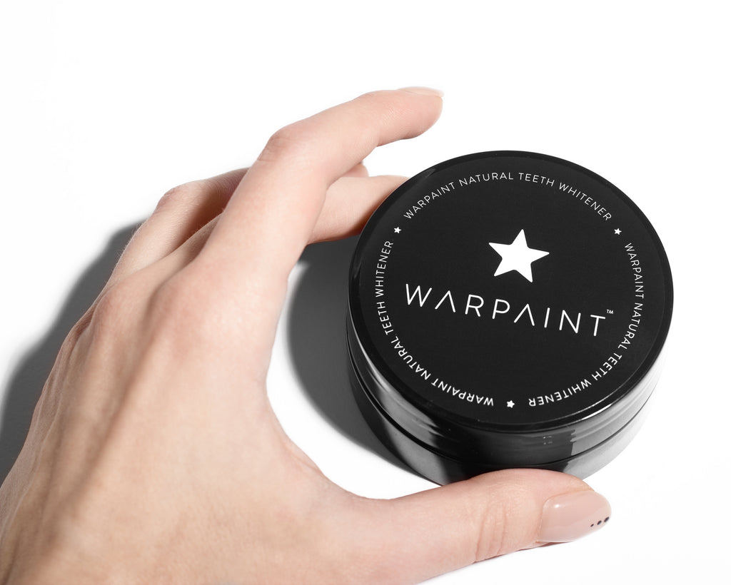 12 Starter Pack WARPAINT® Natural Teeth Whitener