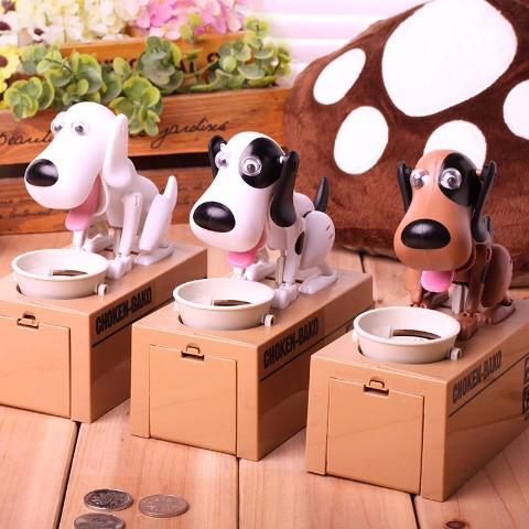 Cute Dog Coin Bank