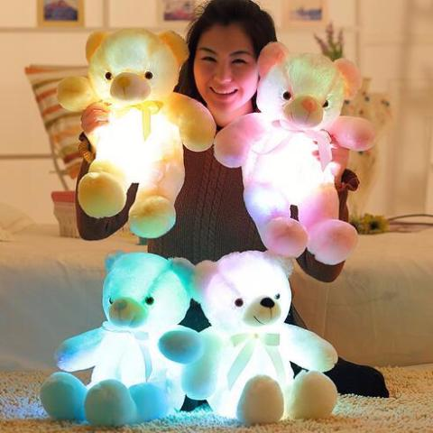 Cute Glowing Teddy Bear