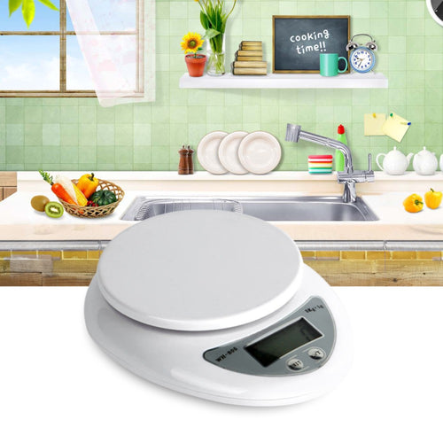 LCD Display Digital Kitchen Scale