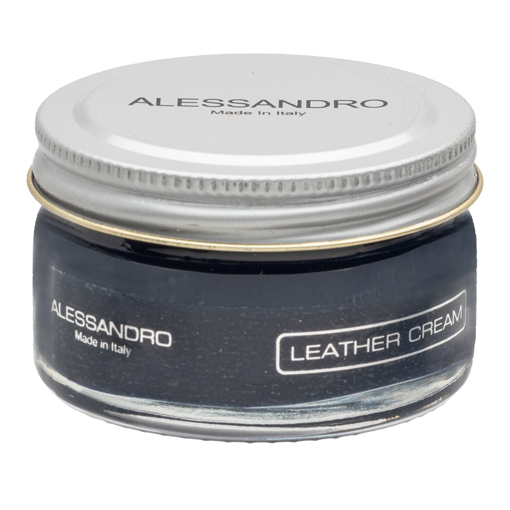 Leather Cream- Blue