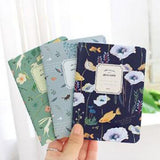 Set of 6 Mini Flower Notebooks