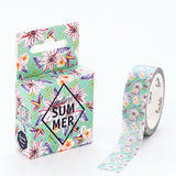 Summer Flowers Washi Tape