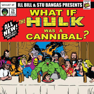 Cannibal Hulk & Hulk Meat b/w Tales To Astonish (7