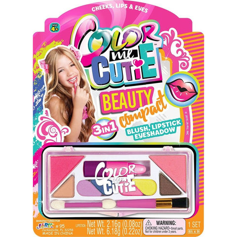 Fashion Bee- Color Me Cutie Beauty Set With Real Makeup! - ShutUp! Toys