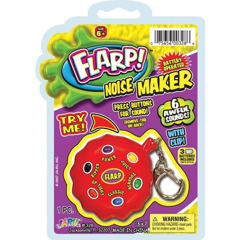 Flarp Noise Maker Key-Chain - ShutUp! Toys