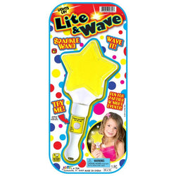 Lite and Wave Sparkle Wand! - ShutUp! Toys