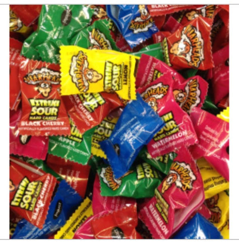 Warheads Sour Candy Assorted, 8 Count - ShutUp! Toys