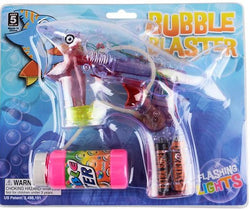 "8"" Light-Up Shark Bubble Blaster, 1 Count - ShutUp! Toys"