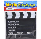 "HollyWood 7""x 8"" MOVIE CLAP BOARD - ShutUp! Toys"