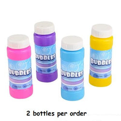 Fun with Bubbles, 4 oz bottles,  2 Count