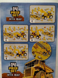 CONSTRUCTION PLAY SET CAKE TOPPER KIT - MAP INCLUDED 14 PCS - ShutUp! Toys