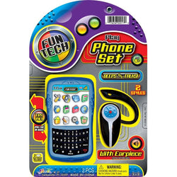 Kid Tech Play Phone Set with Earpiece - ShutUp! Toys