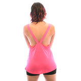 Hot Pink Fire & Fury Signature Racerback Vest