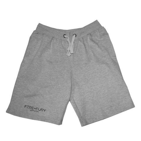 Fire & Fury Heather Grey Signature Shorts