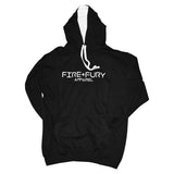 Jet Black & Artic White Fire & Fury Signature Hoodie
