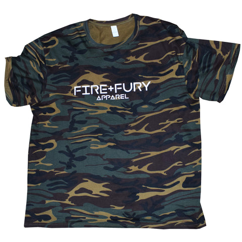 Jungle Camo Fire & Fury Signature Tee