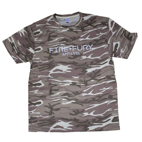 Sand Camo Fire & Fury Signature Tee