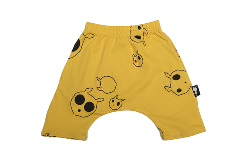 Bloomer shorts yellow