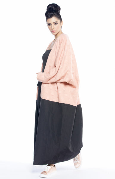 Polka Dot with Cotton Mariposa Cut Abaya