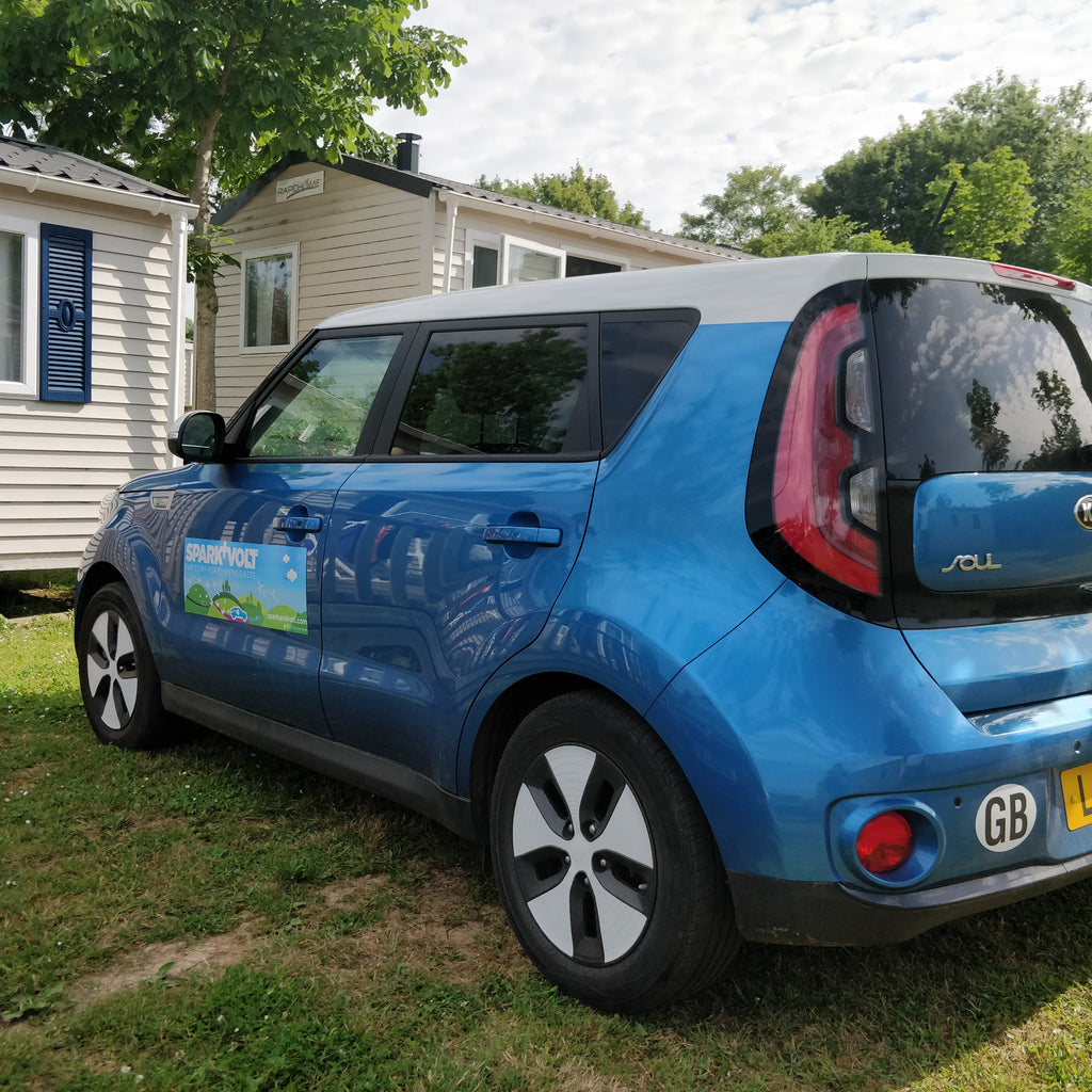 Family holiday in the North of France is (Free) miles better in an electric car