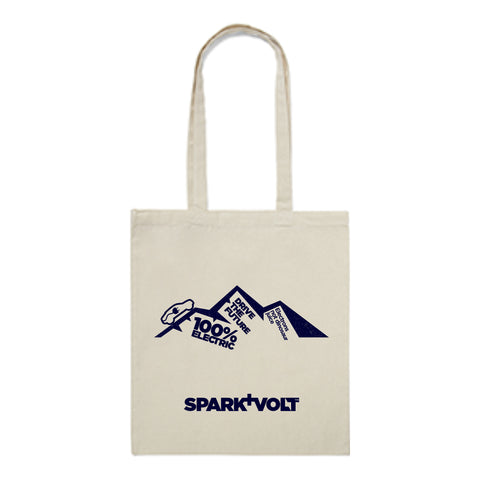 Natural Cotton Tote Shopping Bag - SPARK+VOLT