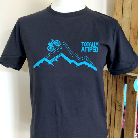 "eBike T-Shirt ""Totally Amped"" - SPARK+VOLT"