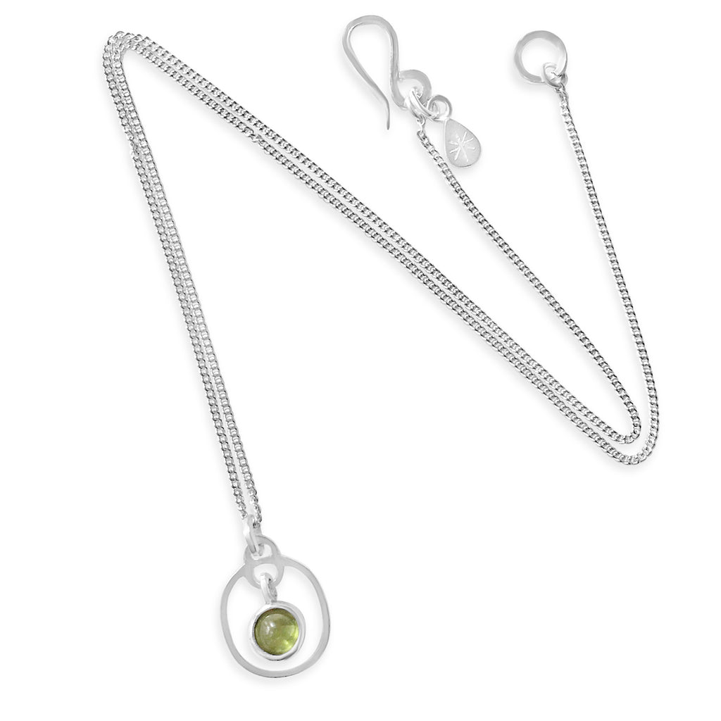 Birthstone Pendant Peridot August