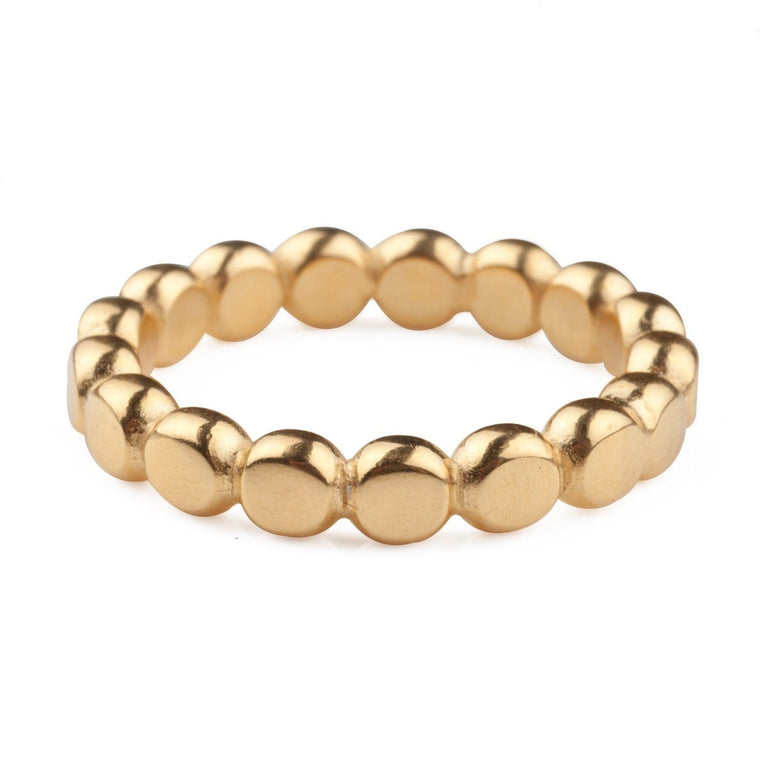 Chunky Gold Bubble Ring