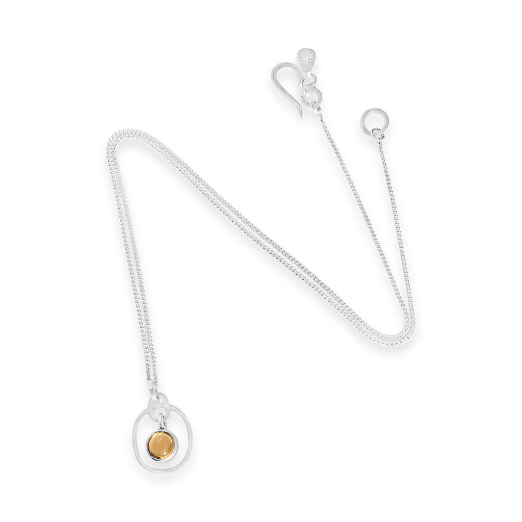 Birthstone Pendant Citrine November