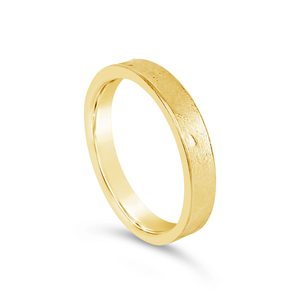 Molten Wedding Band Thin