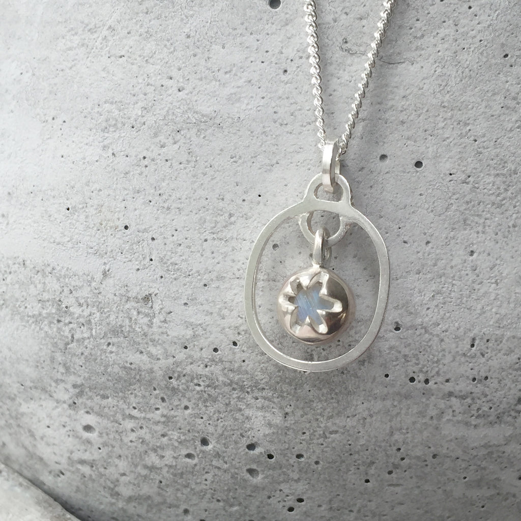 Birthstone Pendant Moonstone June