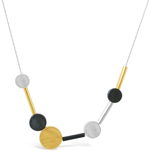 Dot & Disc Necklace