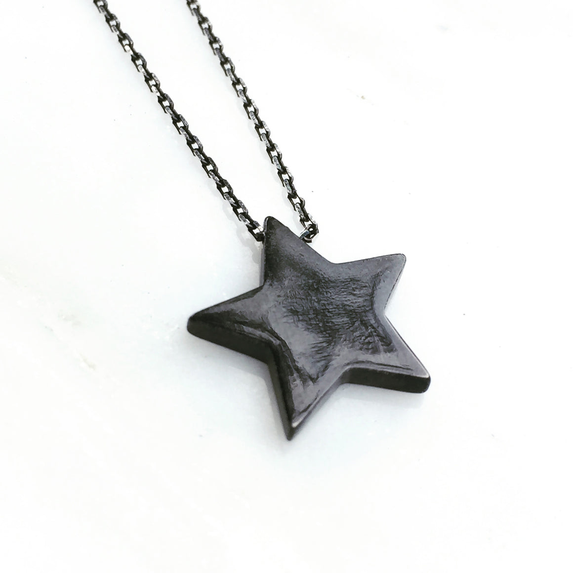 Star Pendant Black